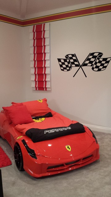 modern living room with persian rug primitive decorating ideas for ferrari race car bedroom - transitional kids los angeles