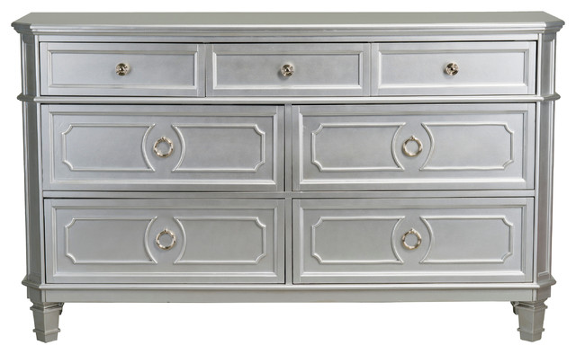 Windsor Silver Dresser  Traditional  Dressers  by Standard Furniture Manufacturing Co