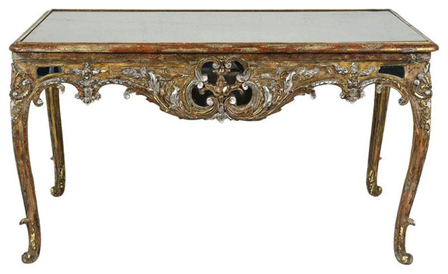 consigned early 19th century louis xvi style center table
