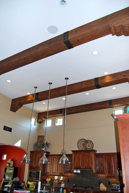 Faux Wood Beams  Mediterranean  Kitchen  Phoenix  by
