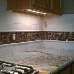 Living Room Chair Slipcovers Luxury Curtains For Kitchen Back Splash - Travertine Sub-way And Glass Mosaic ...