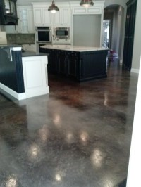 concrete staining - Traditional - Kitchen - Jacksonville ...