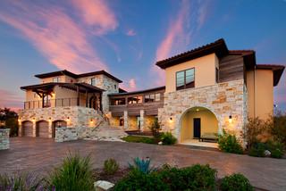 Texas Modern  Mediterranean  Exterior  Austin  by