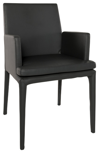 leather armchair metal frame buy chair covers nz eco gray arm rests contemporary armchairs and accent chairs by urbamod