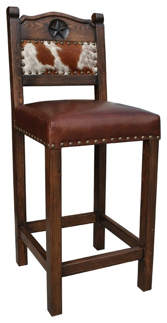 counter height bar chairs two seat dining table and hacienda western stool cowhide southwestern stools by rancho collection