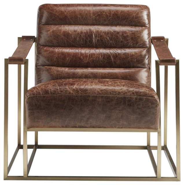 leather sling chairs ebay loose chair covers lazzaro ames contemporary armchairs and accent by inc
