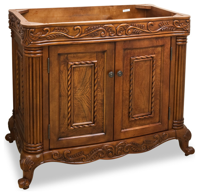 Lyn Design VAN012 Wood Vanity  Victorian  Bathroom Vanities And Sink Consoles  by Simply