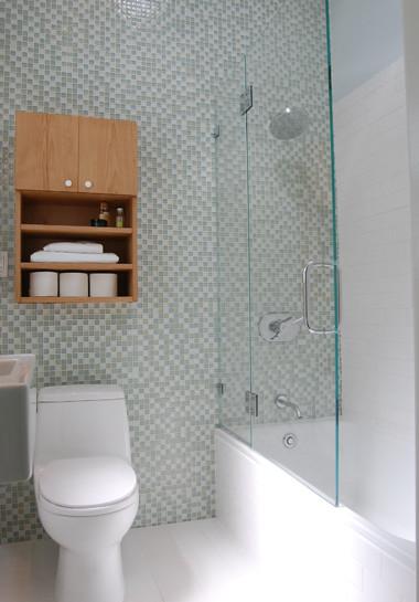 Small San Francisco Bathroom Remodel  Contemporary  Bathroom  San Francisco  by Niche Interiors