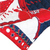 St Louis Cardinals Crib Bedding Baseball Quilt Bumper Set ...