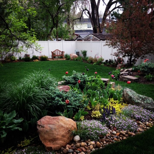 spring bulb gardens - transitional