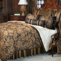 frontgate bedding langdon comforter super queen button tufted
