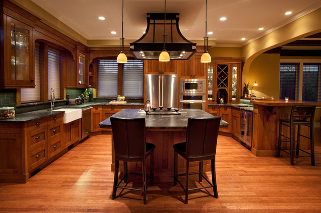 Fairfield Arts And Craft Traditional Kitchen