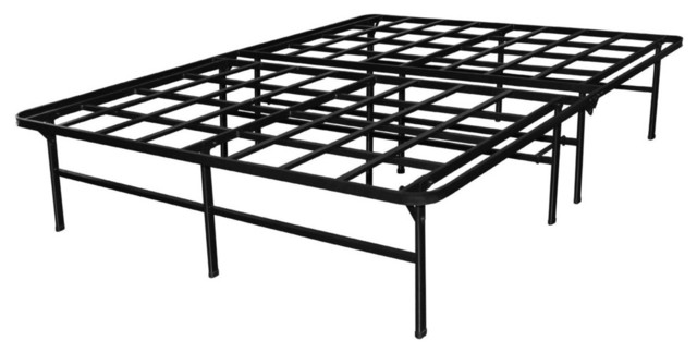 Queen Size Heavy Duty Metal Platform Bed Frame