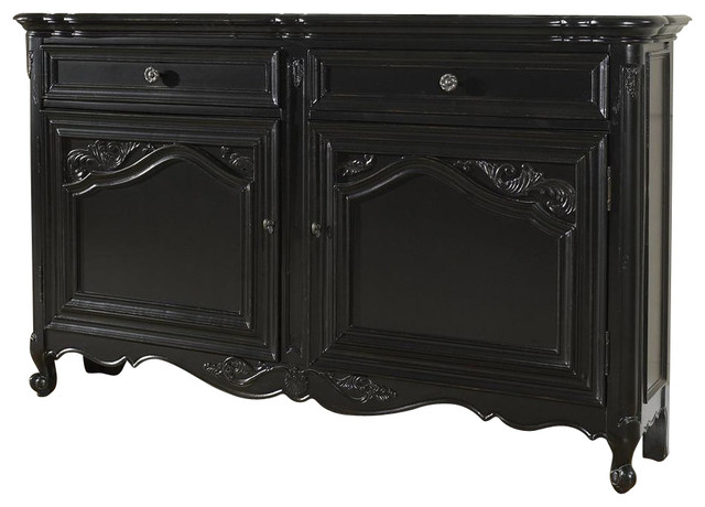 Accents 60 in Hall Console Cabinet  Contemporary