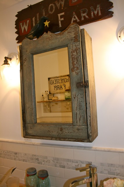 Country Medicine Cabinets Mirrors
