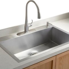 Large Kitchen Sinks White Buffet Modspace In Blog