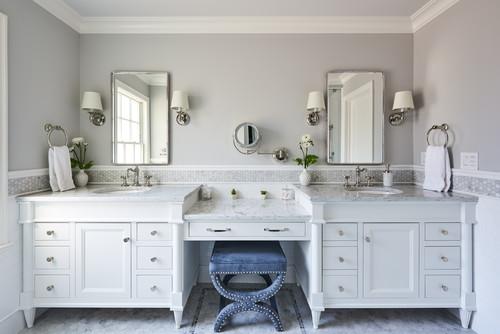 Unique Bathroom Vanity Backsplash Ideas Glass Stone Ceramic Tile