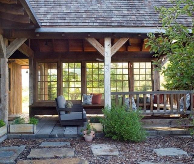 Outdoor Porch Rustic Porch