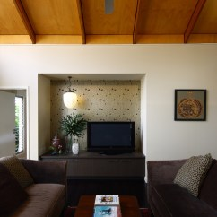 Kitchen Nook Curtains Mat Living Area And Tv Recess - Contemporary Room ...
