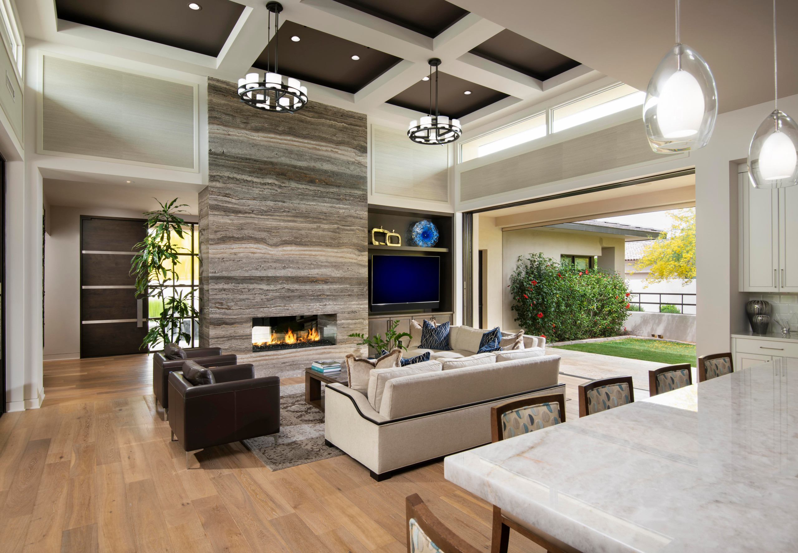 75 Beautiful Brown Living Room Pictures Ideas October 2020 Houzz