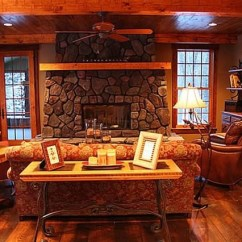 Decorating A Small Living Room With Corner Fireplace Tropical Paint Ideas Cottage And Lodge Style - Craftsman ...