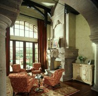 Vaulted Ceiling - Traditional - Living Room - Phoenix - by ...