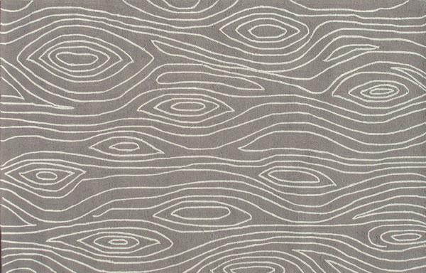 Gray Faux Bois IndoorOutdoor Rug  Contemporary  Rugs  by Shop Ten 25