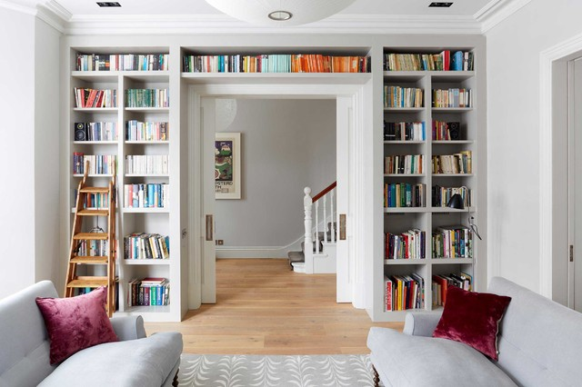 11 Brilliant Ways To Use Wasted Space In The Living Room Houzz Uk