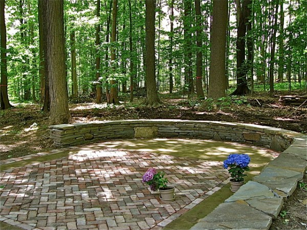 natural wooded spaces