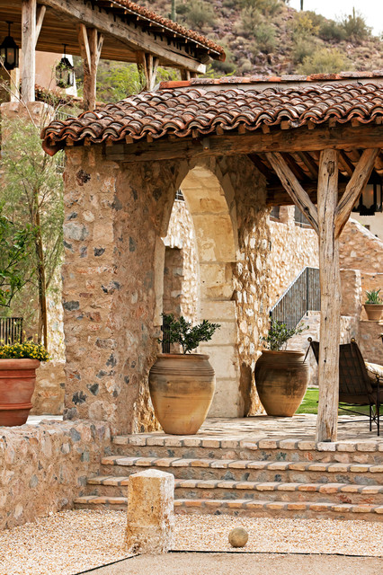 Oz Architects Rustic Patio Phoenix By Don Ziebell
