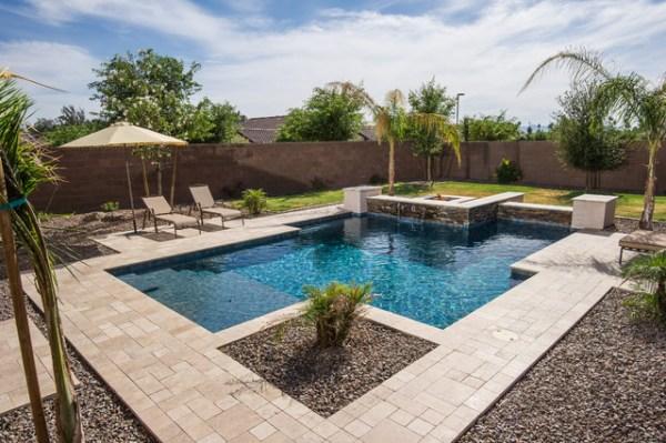 contemporary pool phoenix
