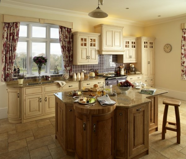 traditional country kitchen design Country Kitchens - Traditional - Kitchen - London - by