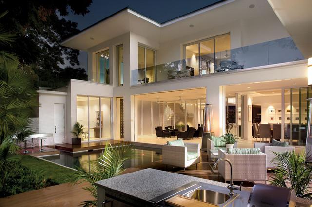 2012 New American Home Contemporary Exterior Orlando By