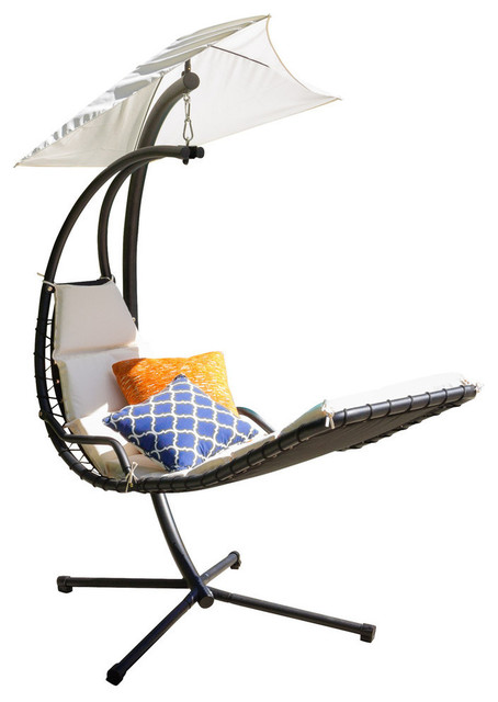 hanging hammock lounge chair swing ikea avera steel contemporary hammocks and chairs by gdfstudio