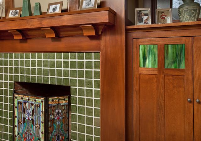 Craftsman Home  Craftsman  Family Room  Columbus  by Melaragno Design Company LLC