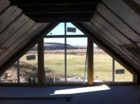 Blinds or Curtains on gable end windows?