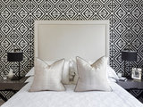 contemporary-bedroom How to Use a Headboard for Decorative Impact  Upholstery in Clapham Junction