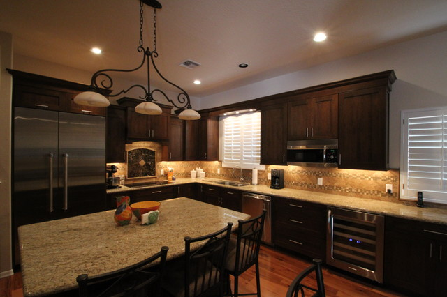 Remodeled Kitchens by Cook Remodeling  Transitional