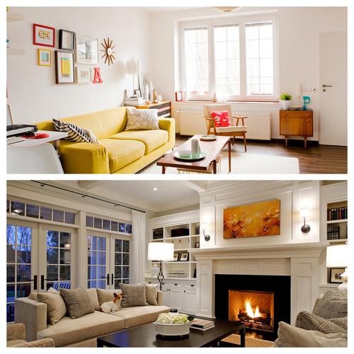 Living Room VS Family Room