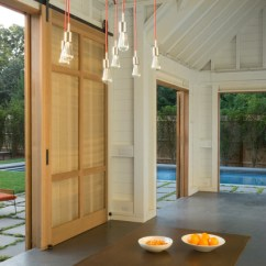 Sling Chairs For Sale Old Ski Lift Chair Cape Cod Pool House With Sliding Barn Doors, Orleans, Ma - Farmhouse Patio Boston By ...