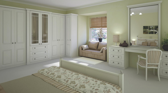 Traditional White Shaker Style Bedroom Furniture  Traditional  Bedroom  Hampshire