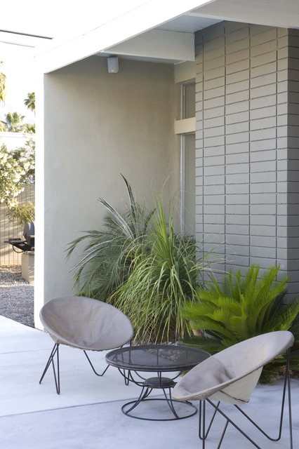Alexander Twin Palms Modern Patio Los Angeles By