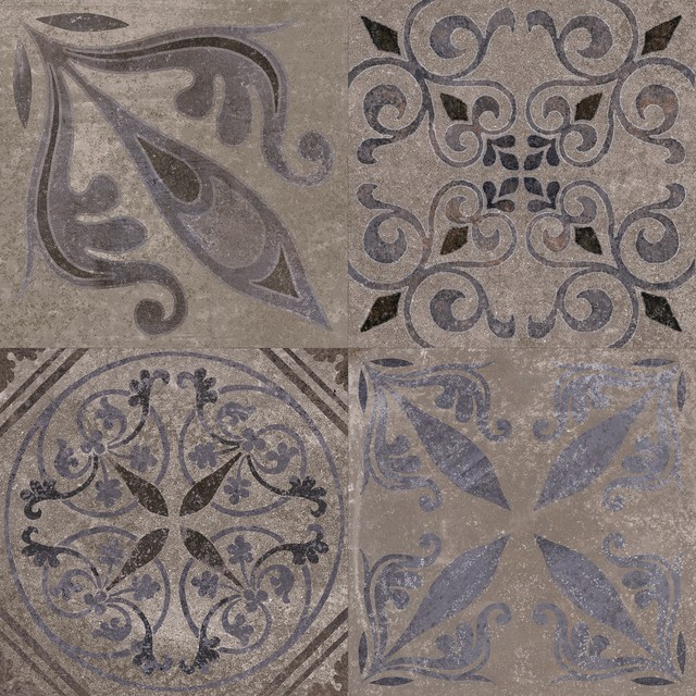 Patterned Feature Tiles