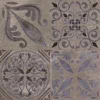 Patterned Feature Tiles - Antique Silver - Contemporary ...