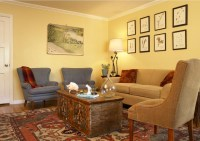 fun and colorful living room - Eclectic - san francisco ...