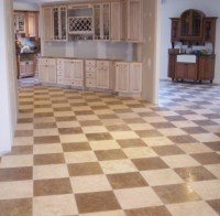 Authentic Durango Stone Checkerboard Flooring ...