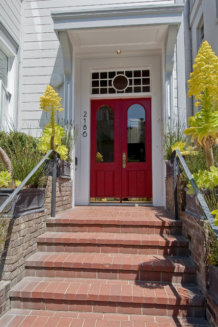 Pacific Heights Home Rejuvenation Victorian Entry
