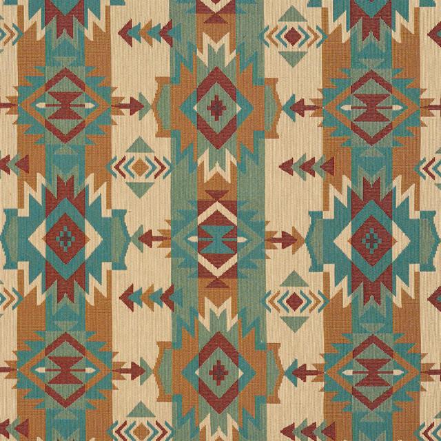 Striped Geometric Southwest Woven Novelty Upholstery