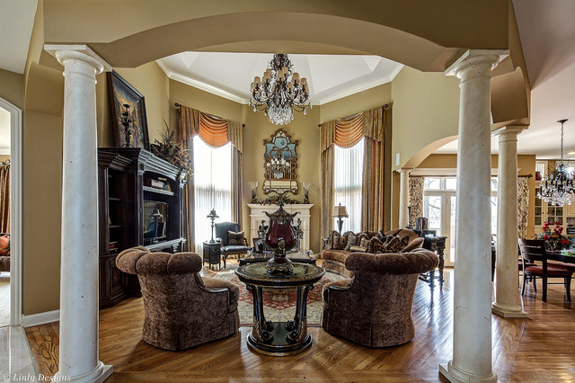 marge carson chairs chair for beauty parlour custom family room - traditional chicago by linly designs