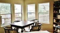 Need help with breakfast area window treatment ideas.